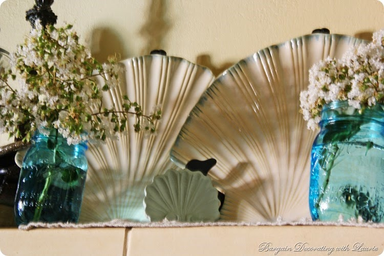 Beach Themed Mantel 5