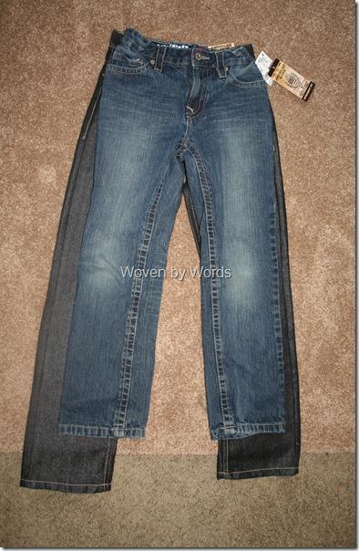 Jean comparison