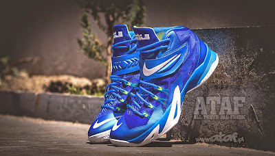 nike zoom soldier 8 gr blue white volt 2 01 Available Now: Nike Zoom LeBron Soldier VIII (8) Sprite