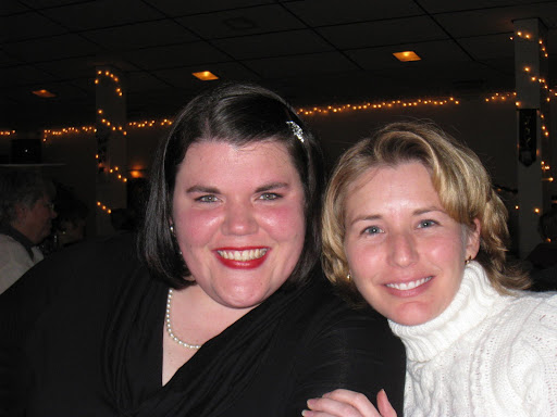 Megan & Kim at the Cooper HS Christmas dinner