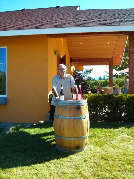 Proprietor Bill Knutson introduces the wines of SpierHead