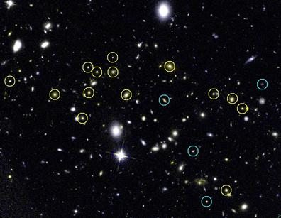 aglomerado de galáxias JKCS 041