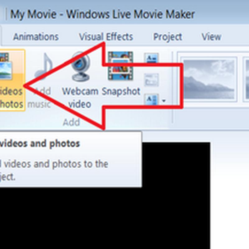 อัพโหลดวีดีโอบน Youtube ด้วย Windows Live movie Maker