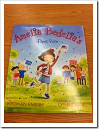 Amelia Bedelia Voting