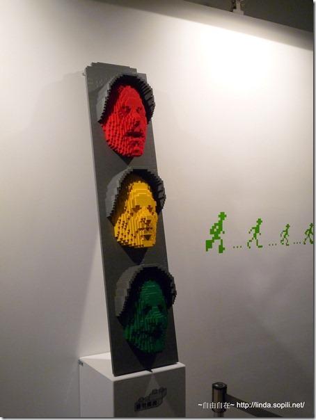2012樂高-紅綠燈配小綠人
