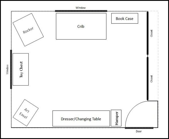 Current Nursery Floor Plan