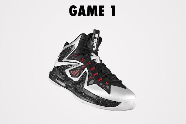 DIY Nike LeBron X PS Elite iD White amp Black Game 1