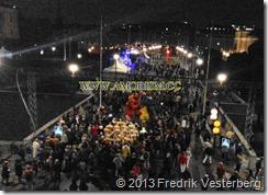 20130915_204400 (1)  Kung Carl XVI Gustaf 40 årsjubileum. Norrbro natt. Med amorism
