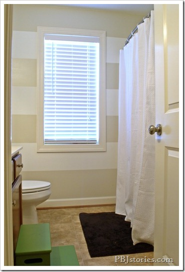 PBJstories.com Kids Bathroom Reveal