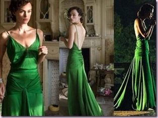 emerald dress keira knightley