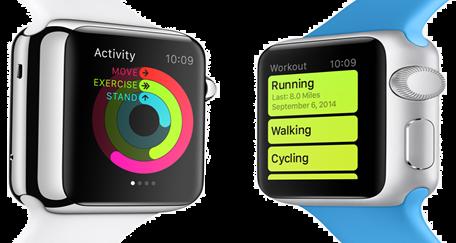 Apple Watch sporttimoodissa