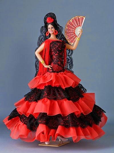 Muñecas Flamenca Marin