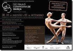 Espetáculo da SP Companhia de Dança - Bachianas nº 1