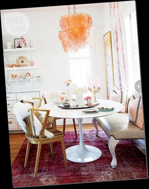 cocina rincón desayunos mesa tipo tulip banco antiguo