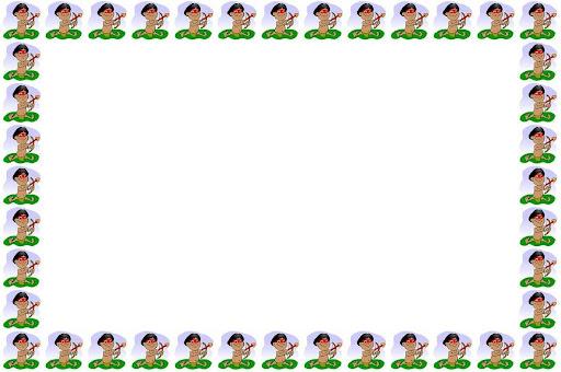 Marcos para hojas blancas de niños - Imagui