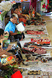 The Meeting House Quickly Transforms Into A Market Selling Crafts - Suva, Fiji