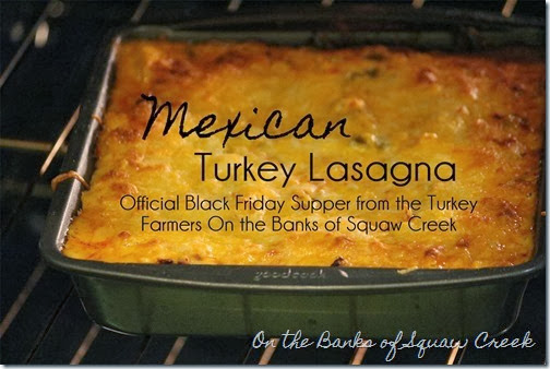 Mexican Turkey Lasagna