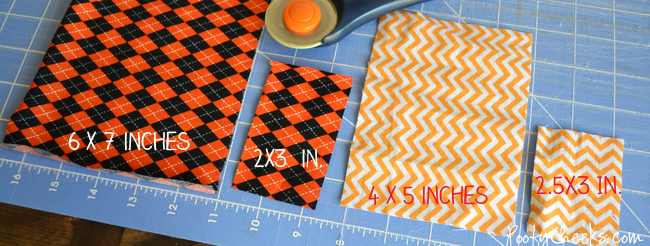 Easy Fabric Bow Tutorial #sewing #bow #bowtie