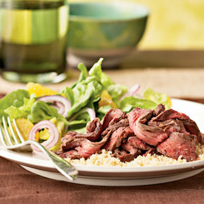 Citrus-Rubbed Skirt Steak