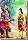 [Rama with Sugriva]