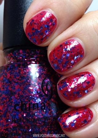 China Glaze Be Merry, Be Bright over Just Be-Claws