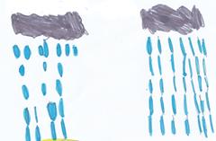 Como chove miudiño