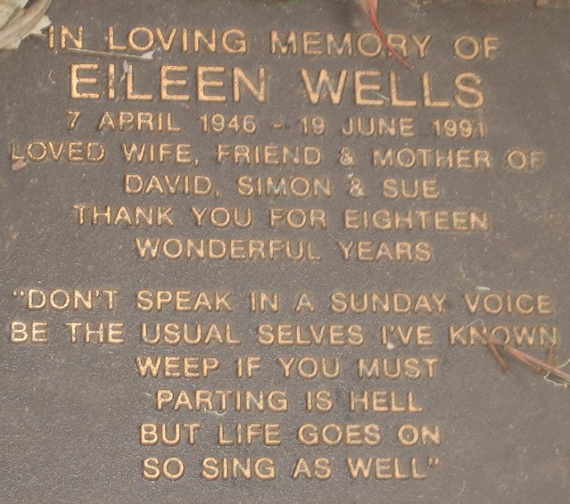 Mums memorial