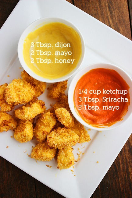 Crispy baked chicken nuggets crispy baked chicken nuggets easy super crispy and freezer friendly these nuggets ccuart Gallery