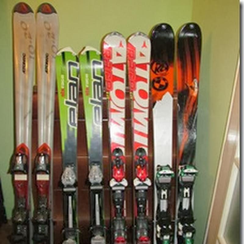 Online Škola skijanja odabir skijaških štapova