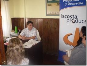 Productores alfajoreros se reunieron con autoridades municipales