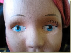 Greek soldier doll eyes