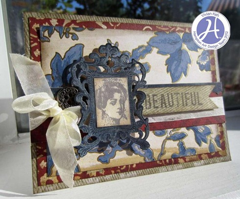 Hampton Art Vintage Charm Card