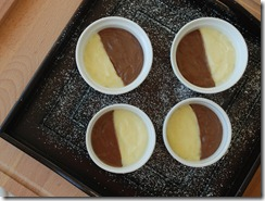 Nutella - custard Pudding