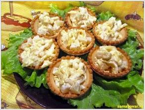 Тарталетки с ананасом. www.samapovar.ru