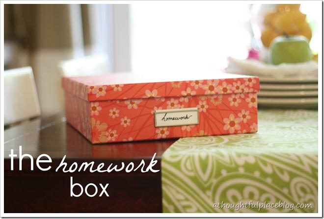 homeworkbox