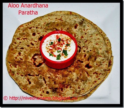 JK - Aloo Anardana Paratha