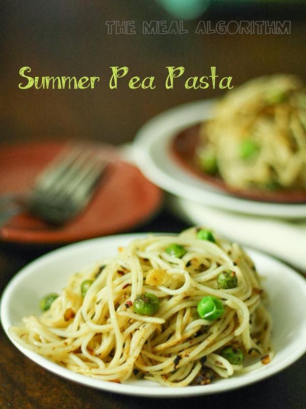 Summer Pea Pasta