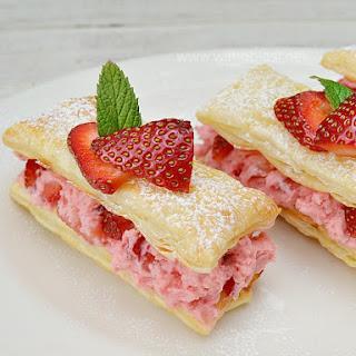 Strawberry Custard Pastry Recipes