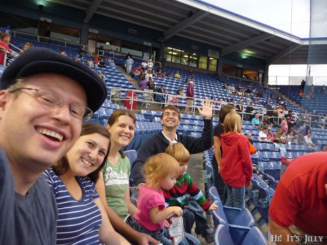 at the B-Mets game