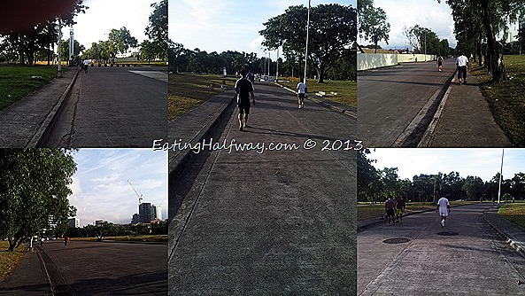 Cebu Business Park jog