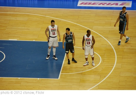 'Kevin Love, Pablo Prigioni, and Chris Paul' photo (c) 2012, ctsnow - license: http://creativecommons.org/licenses/by/2.0/