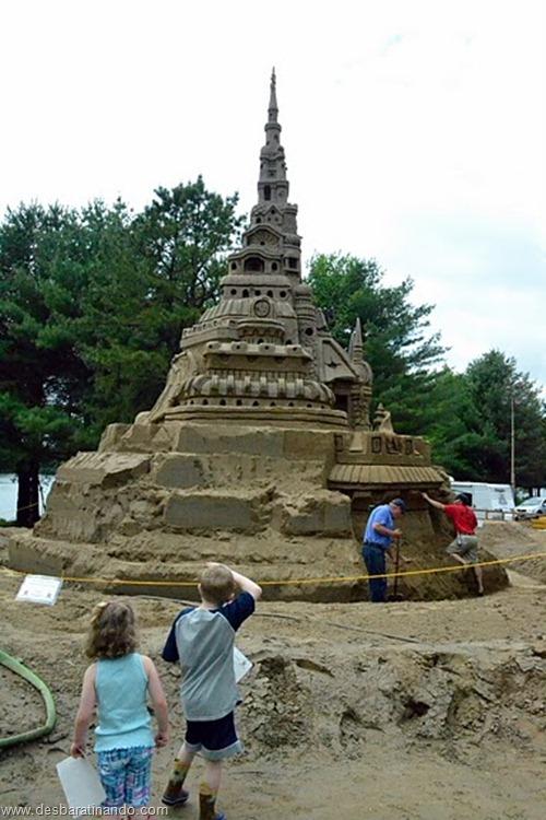 castelo de areia maior do mundo guinnes world book desbaratinando (23)
