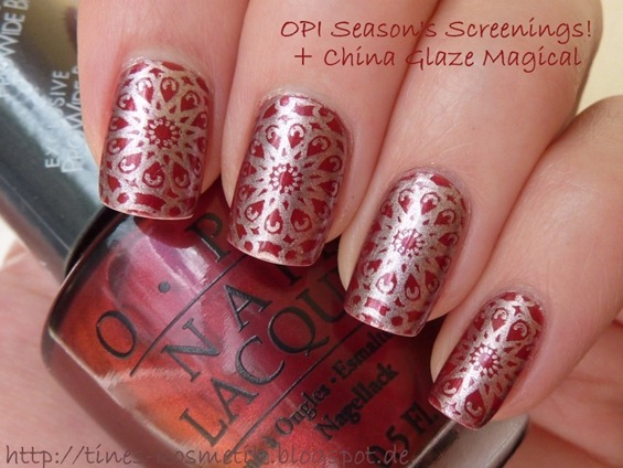 OPI Season's Screenings Stamping 3