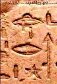 Ufos em Hierogrifos Egito