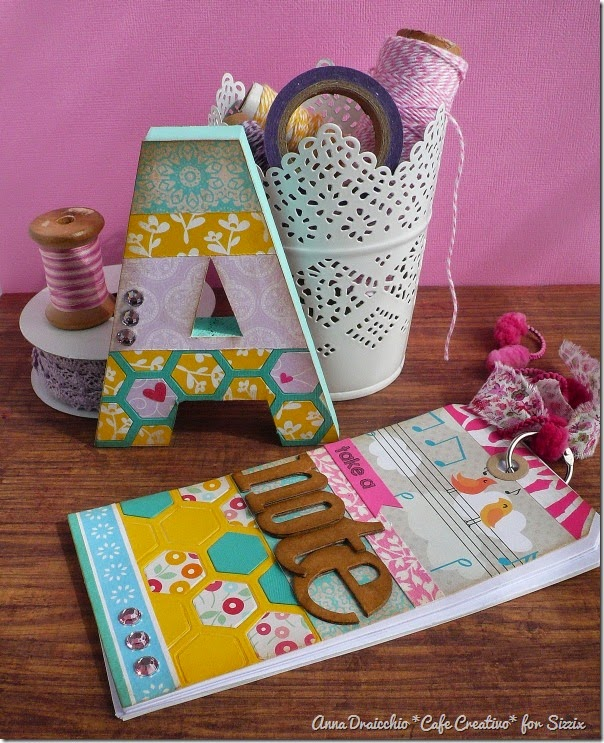 Anna Draicchio - sizzix big shot - home decor - notes tag (1)