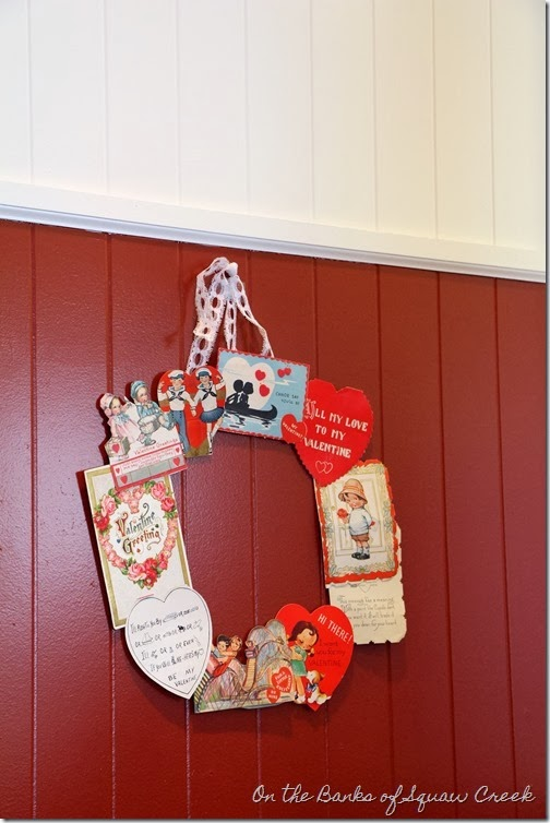Vintage Valentine Decoration