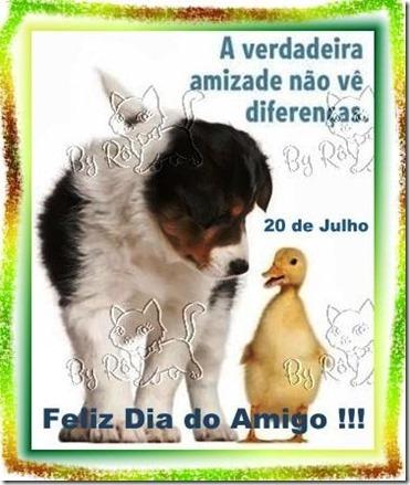 20 DE JULHO...FELIZ DIA DO AMIGO