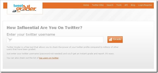 Tweet Grader Website