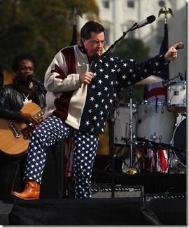 Stephen Colbert Proud to be American