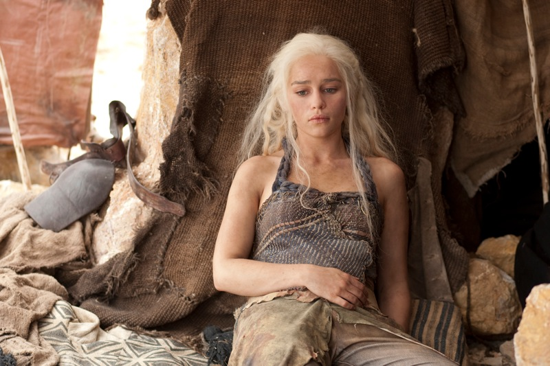Game of thrones season 2 emilia clarke